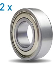 DIY Mechanicals 6002ZZ - Rodamiento de Bolas blindado de Metal (15 x 32 x 9
