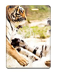 Shauna Leitner Edwards's Shop 8783234K94615826 Premium Tigers Playing Back Cover Snap On Case For Ipad Air
