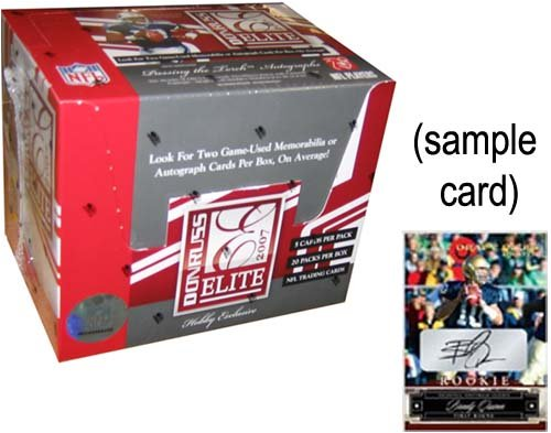 2007 Donruss Elite Football Hobby Box - NFL Football Cards