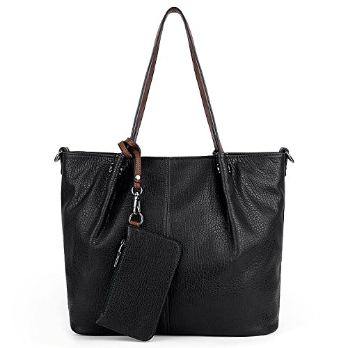 à portefeuille Woman pièces bandoulière 2 noir kaki Uto bandoulière avec Sac Handbag vYtxndwHqA