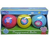 Nickelodeon Peppa Pig 3pk Mini Bounce Balls