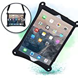 Cooper Bounce Strap Shoulder Strap Rugged Case Compatible with Apple iPad Pro 10.5 | Multi-Functional Shock Proof Heavy Duty Cover with Stand, Hand Strap | Adults Kids Friendly | A1701 A1709 (Black)