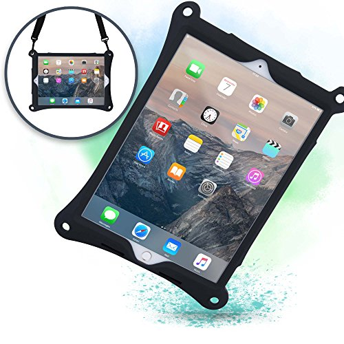 Cooper Bounce Strap Shoulder Strap Rugged Case for iPad Air 3rd Generation, iPad Pro 10.5-inch   Multi-Functional Shock Proof, Hand Strap (Black)