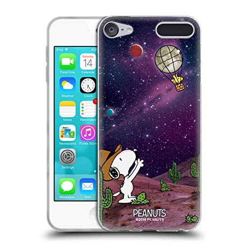 (Official Peanuts Nebula Balloon Woodstock Snoopy Space Cowboy Soft Gel Case for Apple iPod Touch 6G 6th Gen)