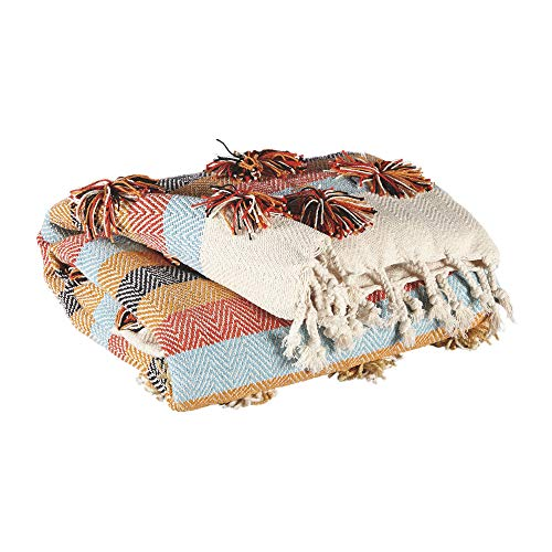 Ashley Blanket - Signature Design by Ashley Jacinta Throw Blanket, Multi