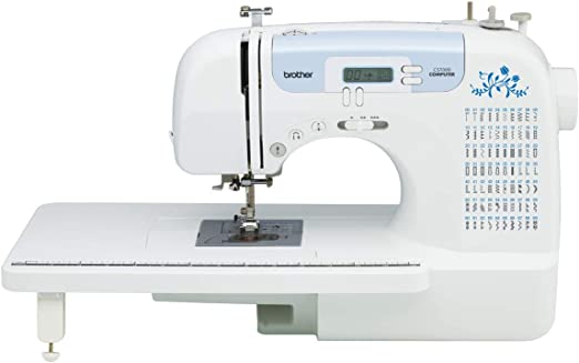 Brother CS6000i máquina de coser con 60 puntadas integradas, 7 ...