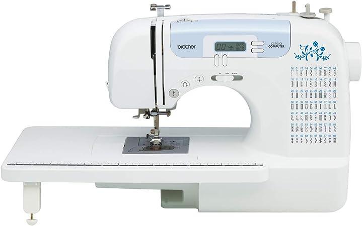 Brother CS6000i máquina de coser con 60 puntadas integradas, 7 ...