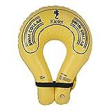 Kiefer Senior Inflatable Swim Collar, Velcro Strap, Yellow