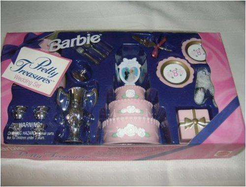 Barbie Pretty Treasures-Wedding Set-1995