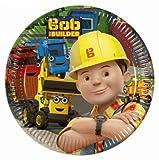 Bob the Builder Paper Plates Medium 20cm