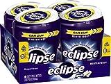 Eclipse Winterfrost Sugarfree Gum, 60 Piece Bottle (Pack of 4)