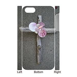 3D Bumper Plastic Case Of Jesus Christ Cross customized case For iPhone 6 plus 5.5