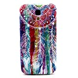 Galaxy S4 Case ,Galaxy i9500 Case ,Camiter Painting Dream Catcher Design TPU Gel Silicone Soft Protective Back Phone Case Skin Cover For Samsung Galaxy S4 S IV I9500