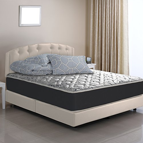 WOLF Sleep Accents Mateo Mattress with Wrapped Coil innerspring, King, Bed in a Box, Made in USA