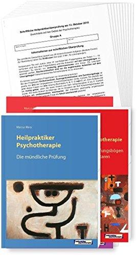 Die schriftliche und mündliche Prüfung Heilpraktiker für Psychotherapie: Das Fragenkatalog Paket