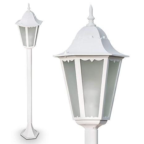Lámpara de pie Hong Kong Frost exterior de aluminio fundido ...