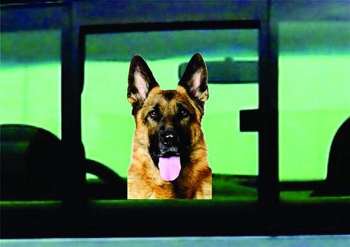 Amazon com: German Shepherd Car Decal Sticker, Dog Sticker