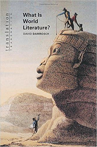DAMROSCH WHAT IS WORLD LITERATURE EBOOK DOWNLOAD