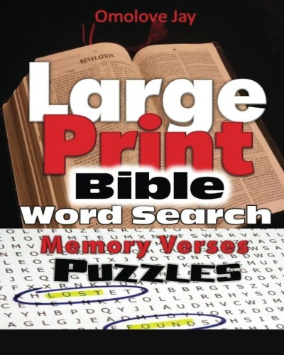 Large Print Bible Word Search Memory Verses Puzzles