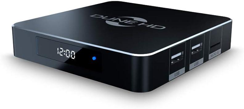 Dune HD RealBox 4K | HDR10 + | 3D | DLNA | Reproductor multimedia de transmisión y Android Smart TV box en Realtek RTD1395 | 2 USB, HDMI, Micro SD, 1 Gbit Ethernet, WiFi 802.11ac: Amazon.es: Electrónica