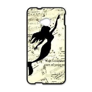 Mermaid Swimming In Music Note Black HTC M7 case