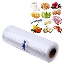 UltimaFio(TM) Kitchen Food Vacuum Bag Storage Bags For Vacuum Sealer Food Fresh Long Keeping Kitchen Accessories 12cm x500cm
