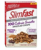 Slim Fast Advanced Nutrition 100 Calorie Snacks, Drizzled Crisps, S'mores, 5 Count, 5 oz (Pack of 4)
