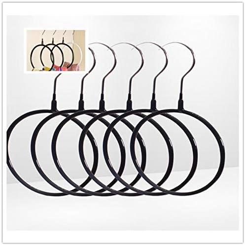 DOITOOL 5 st/ücke Closet Ring Organizer Loop Solide Mehrzweck Starke G/ürtel Ring Kleiderb/ügel Schal Kleiderb/ügel Krawatte Kleiderb/ügel f/ür Schlafzimmer