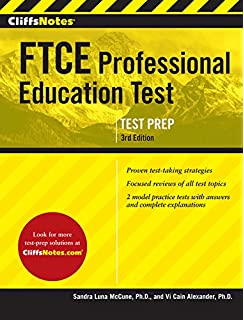 Ftce general knowledge test study guide 2018 2019 exam prep book cliffsnotes ftce professional education test 3rd edition cliffsnotes paperback fandeluxe Choice Image