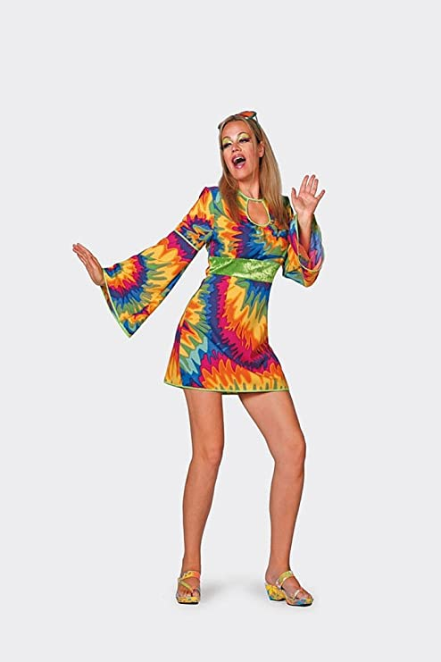 Th Mp Flower Power Hippie Kostum Kleid 60er 70er Jahre Bekleidung