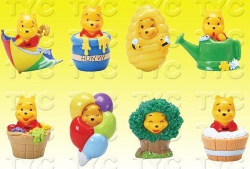Hunny Pot Costume - Winnie The Pooh Peek-a-Pooh #16 100 Acre Woods Capsule Toys Set of 8 vending toys