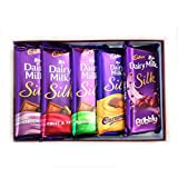 Cadbury Dairy Milk Silk Combo - Pack Of 5 270 Grams