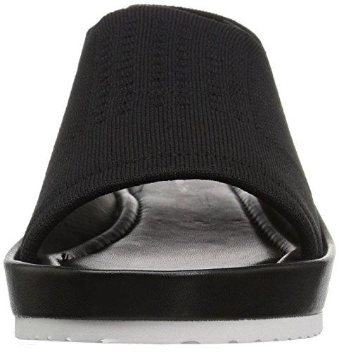 Women's Flat Calvin Black Hennie Klein Sandal 8wqq0Y5