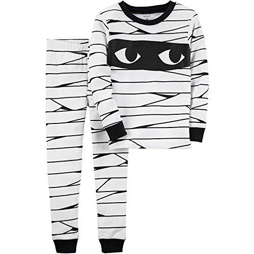 Carter's Baby Boys' 12M-24M 2 Piece Glow-In-The-Dark Snug Fit Cotton Halloween PJs 18 Months