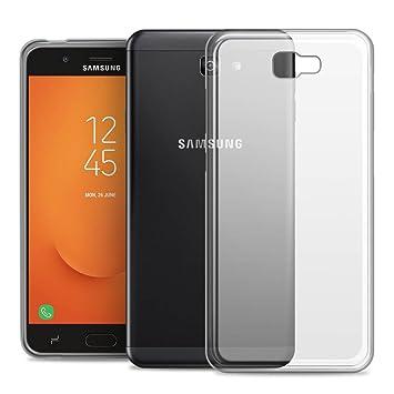 RIFFUE Funda Samsung Galaxy J7 Prime 2, Carcasa Transparente ...
