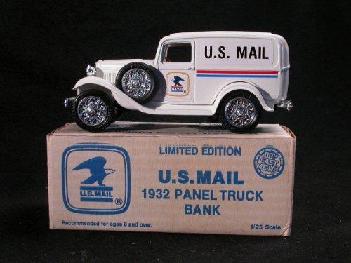 ERTL U.S. Mail - 1932 Panel Truck Die-Cast Coin - Panel Truck Bank