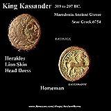297 GR King Kassander 306 BC%2E Herakles