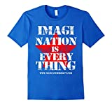 Mens ManCaveHideout: Inspirational and witty man cave t-shirt Medium Royal Blue