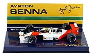 Minichamps McLaren MP4/4 1988 - Ayrton Senna 1988 World Champion 1/43 Scale Resin Collectors Model
