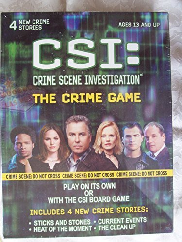CSI: Crime Scene Investigation – The Crime Game