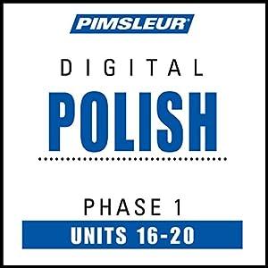 Polish Phase 1, Unit 16-20 Audiobook