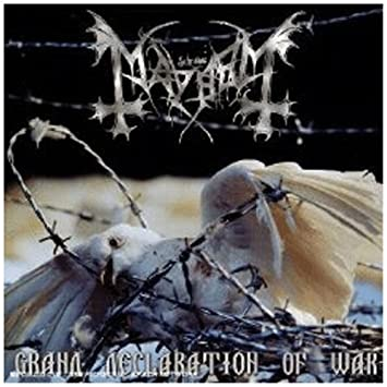 mayhem grand declaration of war lp
