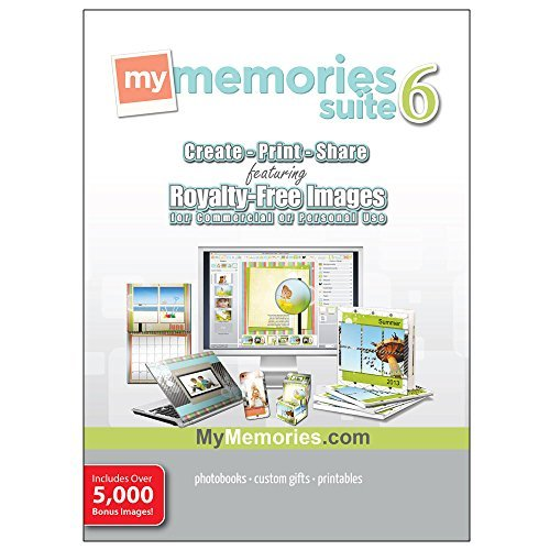 MyMemories Suite v6 with Creativity Collection (for Windows) [Download] by Encore
