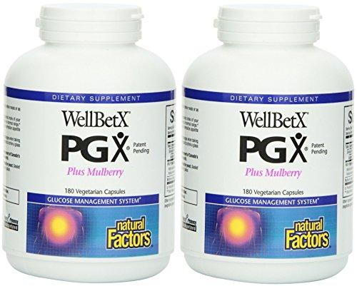 betx PGX Plus Mulberry Veg. Capsules, 180-count (180 X 2) (Fiber Plus 180 Capsules)