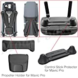 PGYTECH Remote Control Stick Protector + Propeller Holder for DJI Mavic Pro Accessories