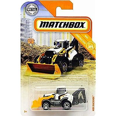 Matchbox MBX Backhoe: Toys & Games