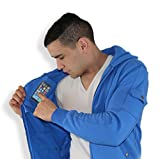 AyeGear H13 Hoodie with 13 Pockets, iPad or Tablet Pocket, Fleece,