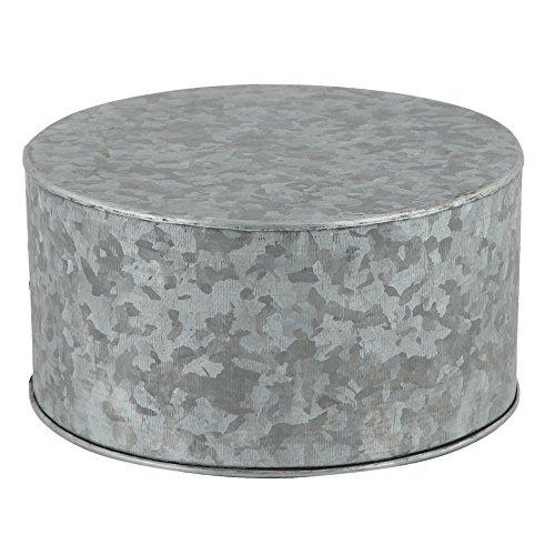 galvanized cake pedestal - 4