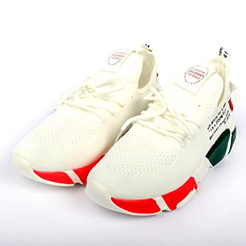 Lycra Running Shoes White at Amazon
