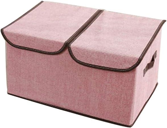 Cajas de almacenamiento grandes con tapas, almacenamiento plegable para la separación de ropa, caja de almacenamiento de ropa, caja de almacenamiento de juguetes, ropa interior, caja de almacenamiento: Amazon.es: Hogar
